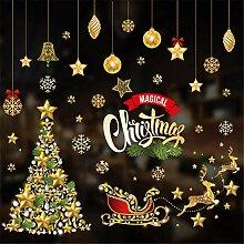 1 frohe Weihnachten Wandaufkleber Kinderzimmer