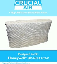 1 Honeywell HC-14N Luftbefeuchter-Filter, passend für Honeywell QuietCare HCM-6009, HCM-6011i, HCM-6011WW, HCM-6012i & HCM-6013i, Vergleichbar mit Ersatzteil # HC-14N, Konzipiert & Entwickelt von Crucial Air