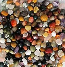 1 Kg Trommelsteine Mix, Sortiment Indien, 10 - 20 mm
