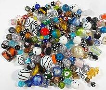 1 Kilo POSTEN PERLEN Glas GLASPERLEN Beads Fancy