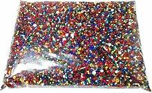 1 Kilo Tschechische Glas Rocailles Preciosa Perlen