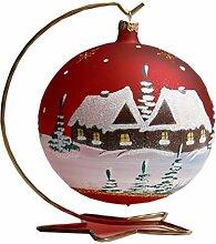 1 Kugel Weihnachtskugel Christbaumkugel ca. 15 cm