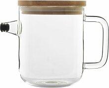 1 L Teekanne aus Glas Bormioli Rocco