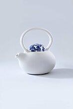 1 L Teekanne aus Porzellan
