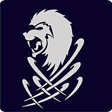 1 Löwen-Aufkleber zur Dekoration von Wänden, Glasprodukten, Fliesen und allen anderen glatten Oberflächen