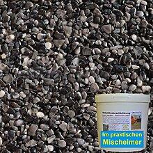 1 m² Steinteppich-Boden Grigio Carbone Marmor
