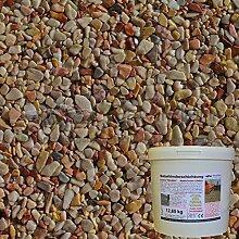 1 m² Steinteppich-Boden Marrone MC-01 Marmor