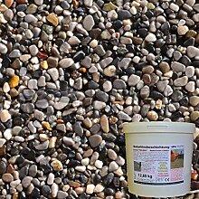 1 m² Steinteppich-Boden Miscuela-Dark Naturkies