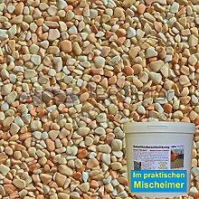 1 m² Steinteppich-Boden Rosa-Corallo Marmor 2-4mm