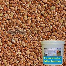 1 m² Steinteppich-Boden Rosso Marmor 2-4mm