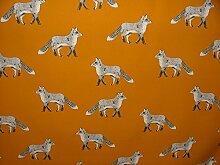 1Meter Prestigious Textiles Fox Umber Baumwolle