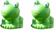 1Miniatur Mini Frosch Weihnachten Fee DIY Kunstharz Home Garten Craft Dekoration