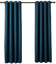 1 Paar Coarse Leinen Lichtdurchlässigkeit 90% Schirm Fenster Vorhang Schirm , 3 , 55*63in