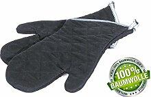 1 Paar - Grillhandschuh Kochhandschuh Küchenhandschuh Handschuh Backhandschuh 44 cm