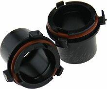 1 Paar HID H7 Xenon KIT Nachrüstsatz Adapter Lampen Sockel