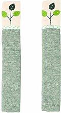 1 Paar Kühlschranktürgriffabdeckungen