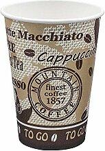 1-PACK Automatenbecher Kaffeebecher 70,3mm Ø