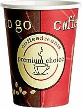 1-PACK Kaffeebecher Coffee ToGo COFFEE DREAMS
