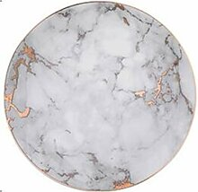1 PCS Geschirr Marmorplatten Keramik Geschirr Set