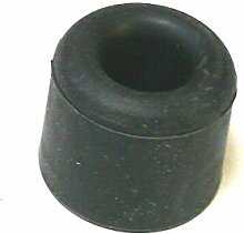 1 Puffer - Stopper - Türstopper - Hartgummi - 40 Ø x 25 mm - schwarz