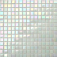 1 Qm Irisierende Perlmutt Weiß Schimmerndes Glas