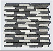 1 qm ST-1-439 Marmormosaik Naturstein Stäbchenmosaik Design Bad Fliesen Lager Verkauf Stein-Mosaik Herne NRW