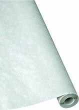 1 Rolle Damast - Tischtuch weiß 80 cm x 50 m