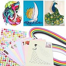 1 Satz DIY Papier Creation Quilling Tools Kit Papier Handwerk Werkzeuge Crimper Vorlage Schlitz Stift Für Dekoration Lernspielzeug Spaß Weihnachtsgeschenk