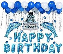 1 Set Party Geburtstag Ballon Happy Birthday