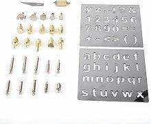 1 Set Pyrography Set für Holzbearbeitung, Holz