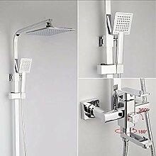 1 Set Wasserfall-Duscharmatur Set Einzelarmatur