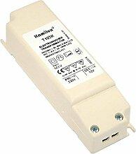 1 Stück elektronischer Halogen Transformator Konverter Trafo KAMILUX 105 Watt (35 - 105 Watt) für Halogen Möbel Einbaulampen