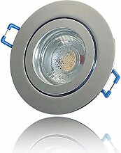 1 Stück IP44 MCOB LED Bad Einbaustrahler Nautilus