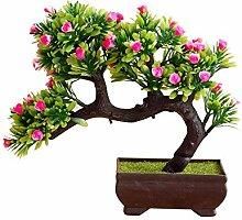 1 Stück Künstliche Blume Baum Topf Bonsai Bühne