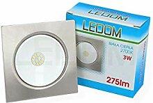 [ 1 Stück ] LEDOM 3W LED 12V DC Möbelleuchte
