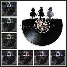 1 Stück Rodeo Silhouette Wandlampe Schallplatte