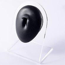 1 Stück Silikonohr Nase Modell Professionelle