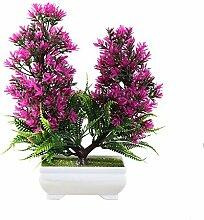 1 stück topf künstliche blume baum bonsai bühne