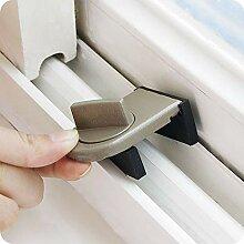 1 stücke Einstellbare Tür Fenster Lock Stopper