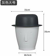 1 Stücke Kreative Hutförmige Desktop Mülleimer
