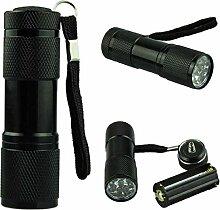 1 UV Taschenlampe Xmansky 395-400nm UV LED Voberry