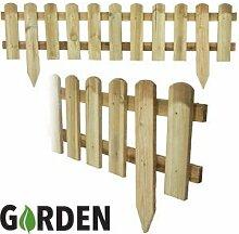 1x 1,2m Holz Garten Lattenzaun Fencing
