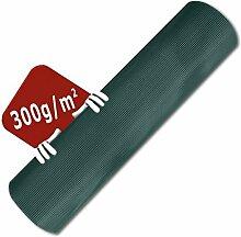 1 x 25 m Kunststoffzaun, robustes Maschengewebe (6 x 6 mm), Stärke 300 g/m², Gartenzaun, Hühnerzaun, Zaun