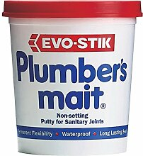 1 x Evo-Stik Plumber's Mait Non Setting Putty for Sanitary Joints 750g 456006 by Evo-Stik