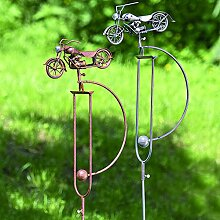 1 x Gartenstab Pendel Ringo Eisen lackiert Höhe