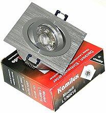 1 x Power LED Einbaustrahler/Spot Kanto 1er