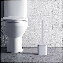 1 x Silikon-WC-Bürste mit Gummi-Basis,