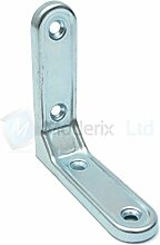 1x stabiles Stahl Winkel Halterung Bar 75mm/Ecke/L Form/Korsett/Box/Brus