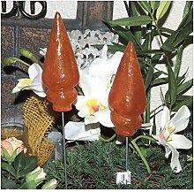 10 Gartenstecker Blumenstecker