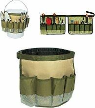 10in1Garten TOOL Tote, Garten-Kit Tragetasche tragbar Garden Aufbewahrung Taschen für umliegenden auf Barrel